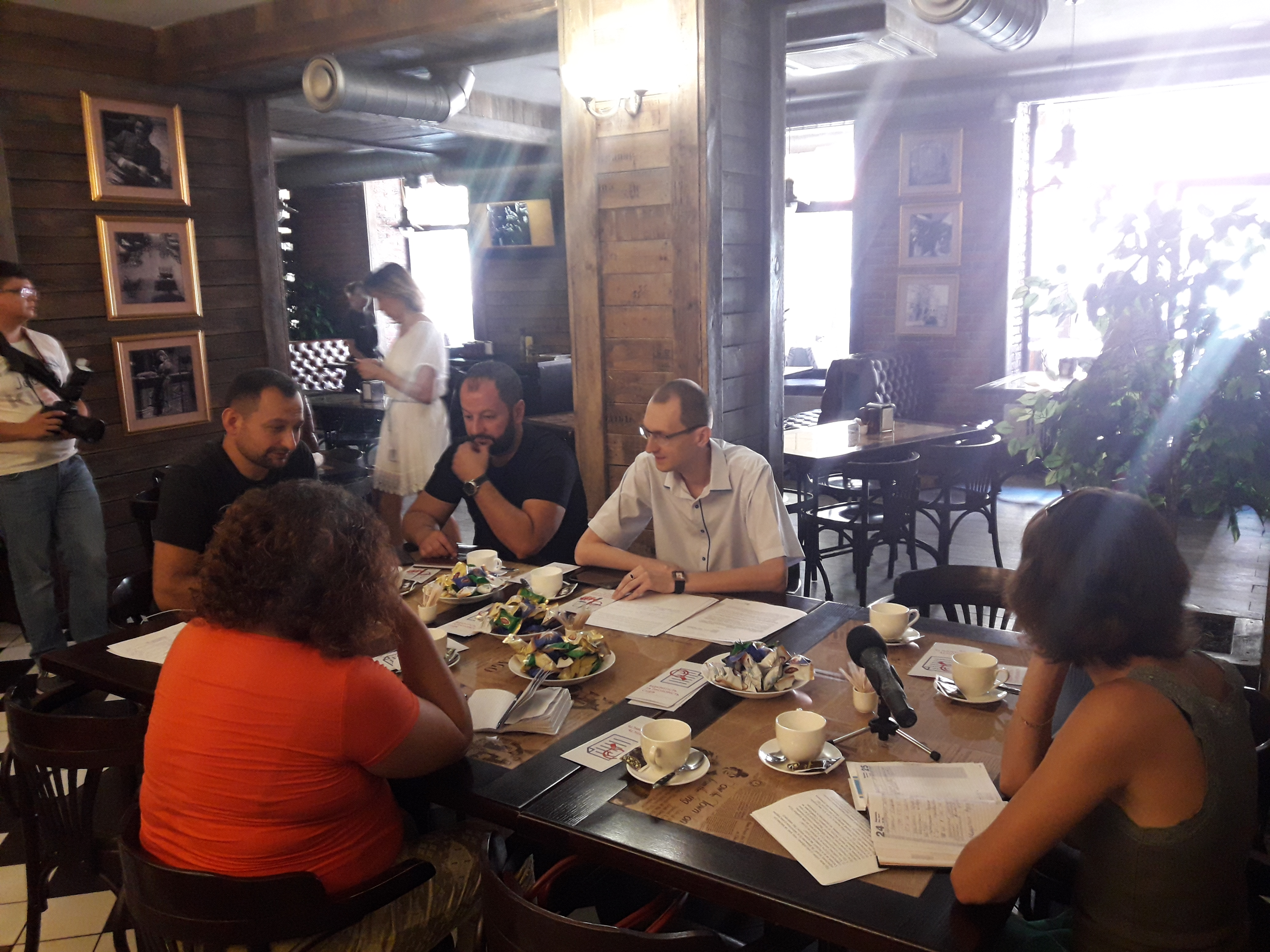 Як проходить судова реформа у Покровську розповідали на прес-сніданку журналістів та активістів громади з суддею-спікером, фото-3