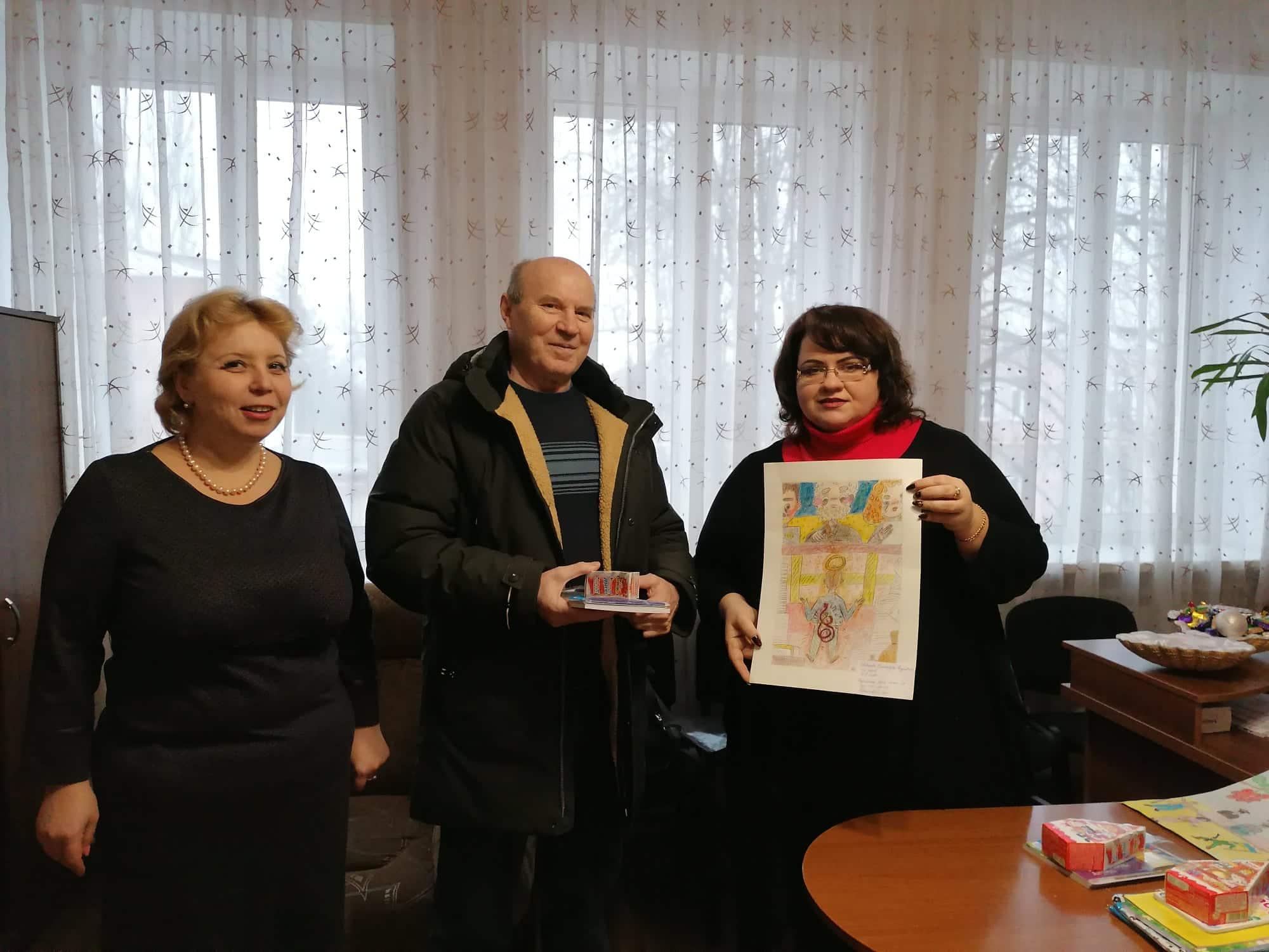 У Покровську визначено переможців конкурсу малюнків, які відзначені Дитячим фондом ООН ЮНІСЕФ, фото-1